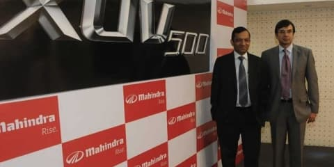Mahindra XUV500 first global SUV planned