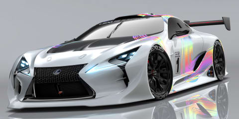 Lexus LF-LC GT Vision Gran Turismo dreams of being a Super GT racer