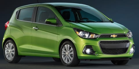 2016 Holden Barina Spark previewed by new pint-sized Chevrolet hatch — UPDATED