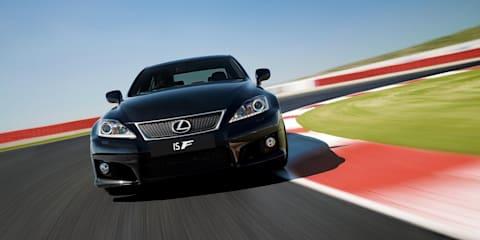 2011 Lexus IS F update launched in Australia
