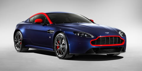 Aston Martin V8 Vantage N430, DB9 Carbon Black and White special editions revealed