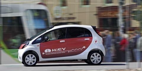 Mitsubishi i MiEV: future mobility starts here