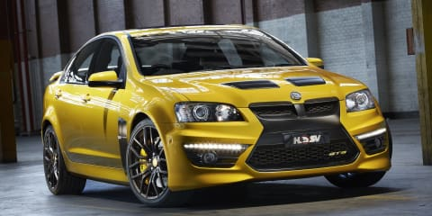 HSV GTS 25th anniversary limited edition unleashed