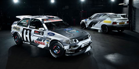 Ken Block puts his Escort through its paces - Video