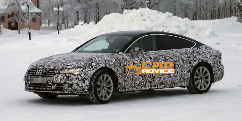 Audi A7 Sportback : fresh images of facelifted 'four-door coupe'