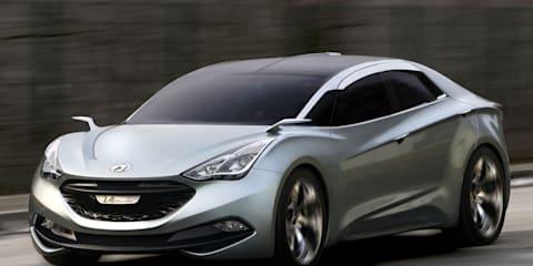Hyundai i-flow concept to become i40/i45 Coupe?