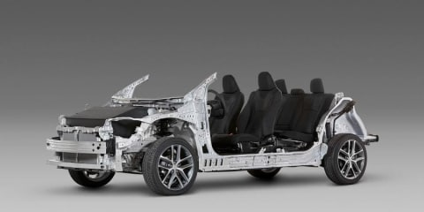 Toyota reveals new modular TNGA vehicle architecture