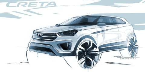 Hyundai Creta teased via sketch