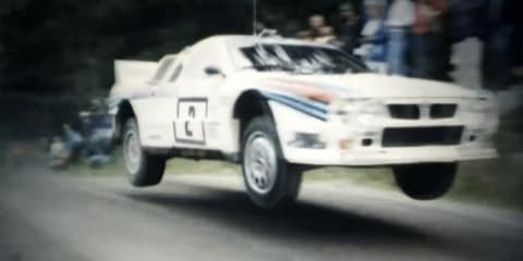 Video: Group B Rally masters in action