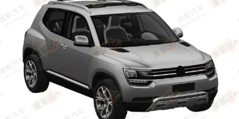 Volkswagen Taigun: patent images reveal compact crossover