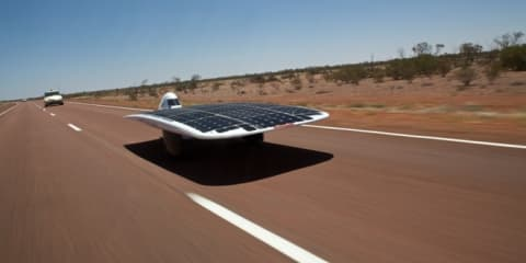 Australian Sunswift IVy breaks solar car speed record
