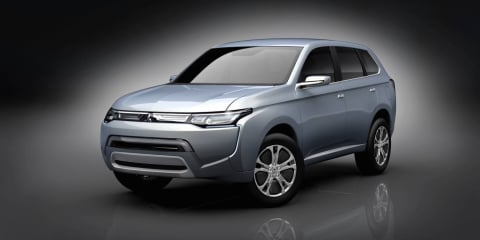 New Mitsubishi Outlander previewed in PX-MiEV II Tokyo concept