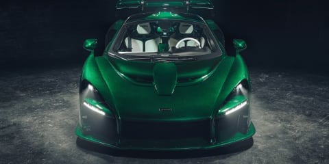 McLaren details first Senna to be delivered in the US