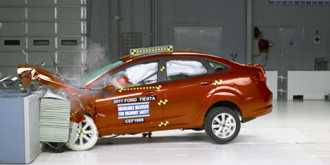 Video: 2011 Ford Fiesta earns Top Safety Pick from the Insurance Institute for Highway Safety