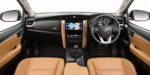 2016 Toyota Fortuner interior revealed