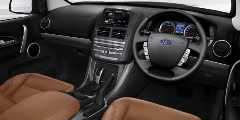 2015 Ford Territory and Falcon interiors :: first images