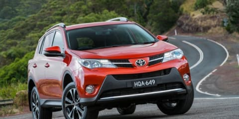 Toyota RAV4 goes red for record