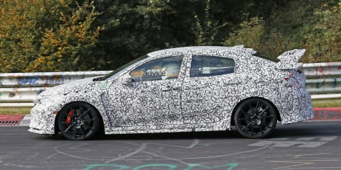 2017 Honda Civic Type-R:: manual-only hatch 'will be fastest at the Nurburgring'