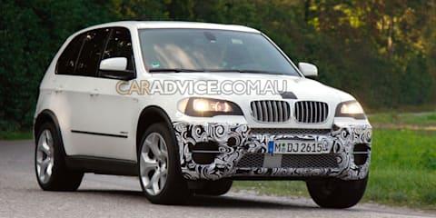 2011 BMW X5 facelift spy pics