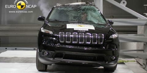 Jeep Cherokee, Honda Odyssey, Skoda Rapid and Nissan Pathfinder score five-star ANCAP crash ratings
