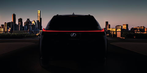 2018 Lexus UX teased, set for Geneva debut