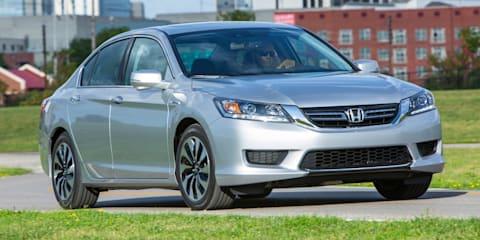 Honda Australia overhauls hybrid range : Accord Hybrid in; CR-Z, Civic and Jazz Hybrids out