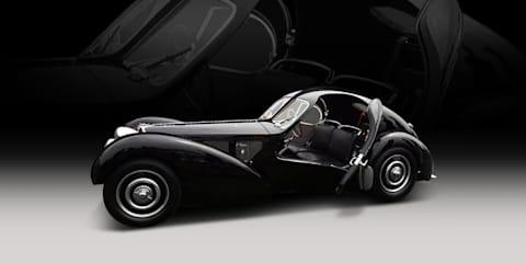 1936 Bugatti Type 57SC Atlantic sells for $34 million+