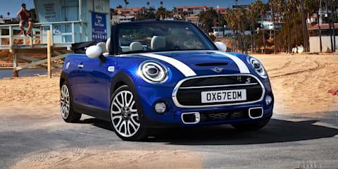 2018 Mini Hatch, Convertible upgrades announced