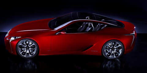 Lexus LF-LC concept officially revealed