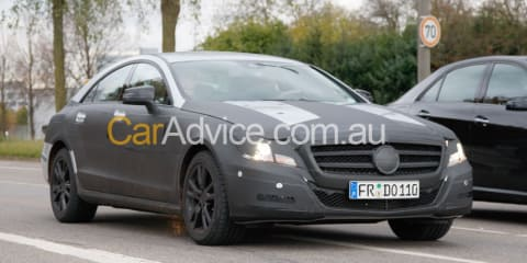 2011 Mercedes-Benz CLS spy pics