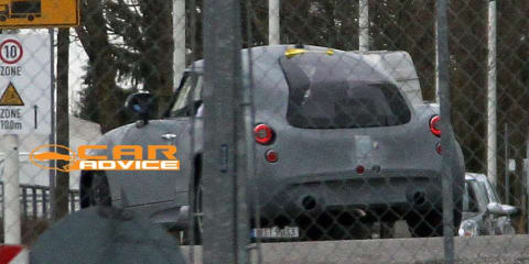 PGO Hermera BMW mystery car spy shots revealed