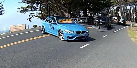 2014 BMW M3 spied undisguised