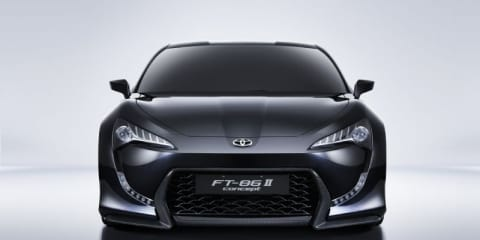 Toyota FT-86 II revealed at Geneva show