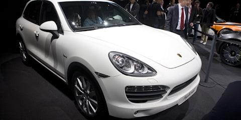 Porsche Cayenne Hybrid Geneva 2010