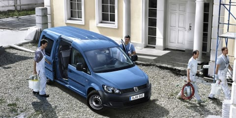 Volkswagen Caddy range expanded: BlueMotion, Maxi Crewvan added