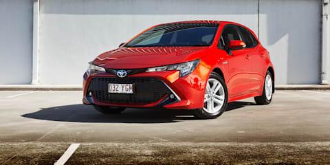 2019 Toyota Corolla SX Hybrid review