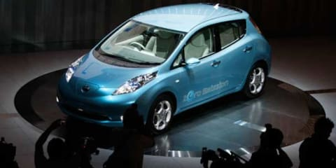 Nissan and Victoria team up on EVs