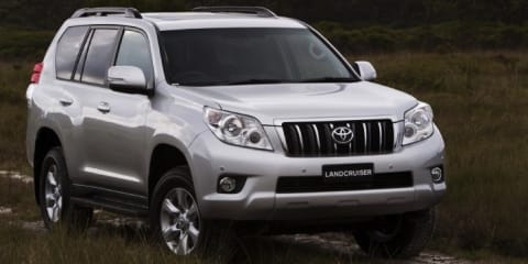 2012 Toyota LandCruiser Prado Altitude launched
