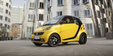 Smart Fortwo edition cityflame set to turn heads