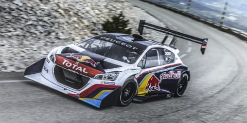 Peugeot 208 T16 Pikes Peak: racing livery revealed