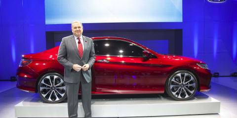 Honda Accord Coupe Concept revealed