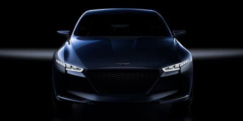 Genesis G70:: Hyundai teases sedan concept ahead of New York auto show - video