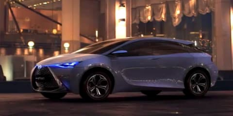 Toyota FT-HT Yuejia concept: new video reveals interior