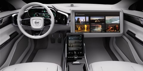 Volvo Concept 26 previews autonomous vehicle interior
