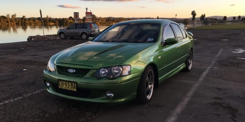 2005 Ford Falcon XR8 Enforcer review