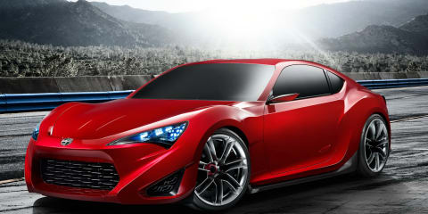 Scion FR-S Concept at New York show