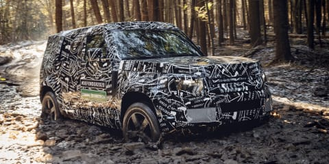 2020 Land Rover Defender previewed - video
