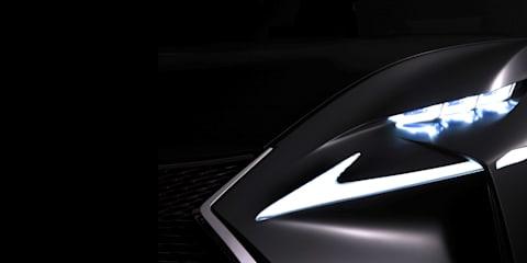 Lexus concept teased ahead of Frankfurt debut