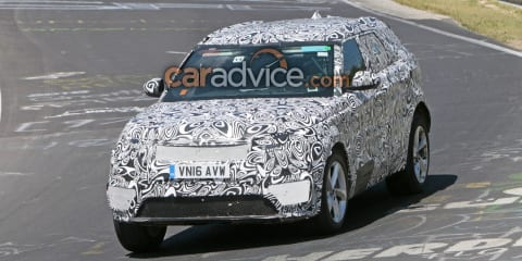 Range Rover Sport Velar: Tapered SUV heading to Geneva - report