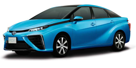 2015 Toyota Fuel Cell Vehicle revealed in production form